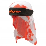 Dye Head Wrap ( airstrike orange white)