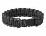 Bransoletka Paracord Helikon Survival Black