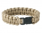 Bransoletka Paracord Helikon Survival Coyote