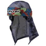 Dye Head Wrap (global blue red green)